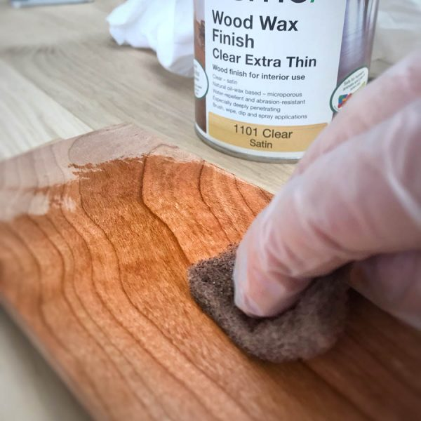 Wood Wax Finish Extra Thin